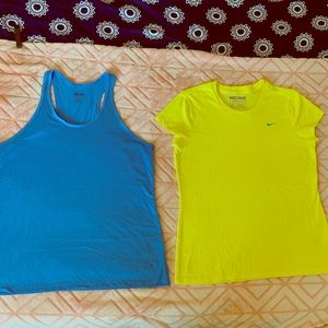 Nike Bundle XL one Drifit Tank one Tee